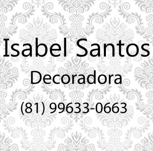Isabel Santos decoradora