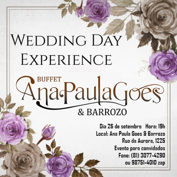 Wedding Day Experience Barrozo