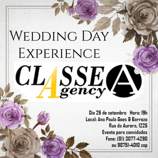 Wedding Day Experience Classe A Agency
