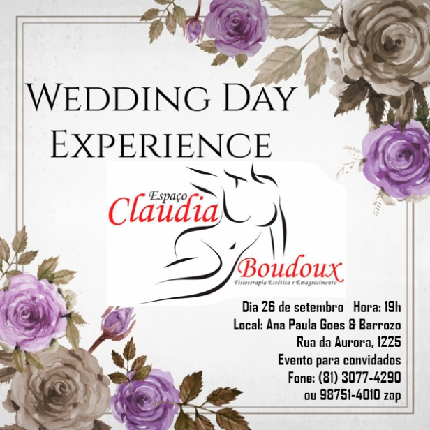 Wedding Day Experience Claudia Boudoux