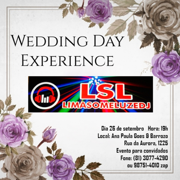Wedding Day Experience LSL