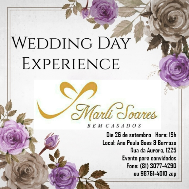 Wedding Day Experience Marli Soares