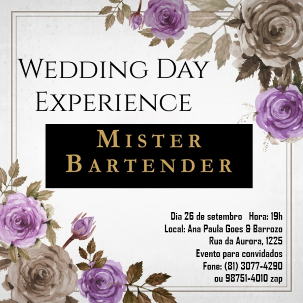 Wedding Day Experience Mister