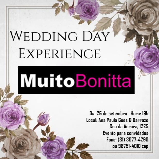 Wedding Day Experience Muito Bonitta