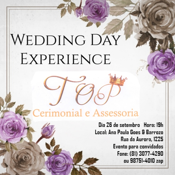 Wedding Day Experience Top Cerimonial