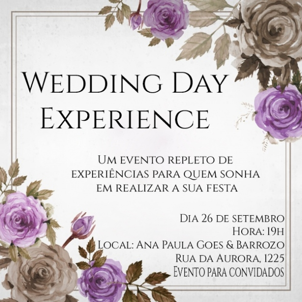 Wedding Day Experience